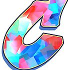 Letter C - Color Mix by paintcave