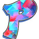 Letter P - Color Mix by paintcave