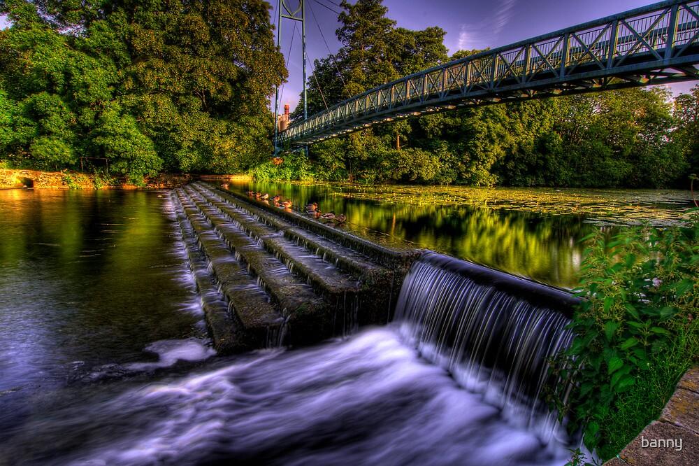 Blanford Weir by banny