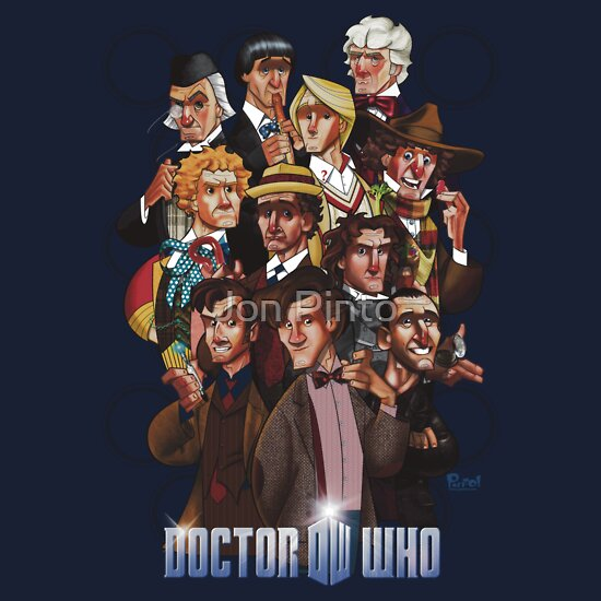 TShirtGifter presents: Eleven Doctors