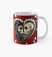 Ashes - Day of the Dead Couple - Sugar Skull Lovers Mug
