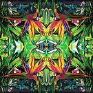 JUNGLE GREEN PATTERN by ARTbubble