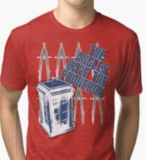 The Angles Have The Phonebox Tri-blend T-Shirt