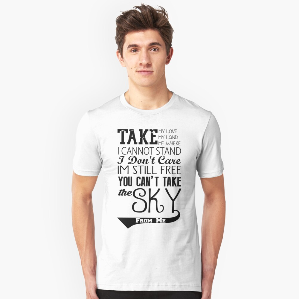 Firefly Theme song quote Unisex T-Shirt Front