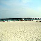 Pensacola Beach by Wanda Raines