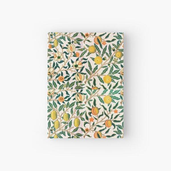 William Morris Pattern - Fruits Hardcover Journal