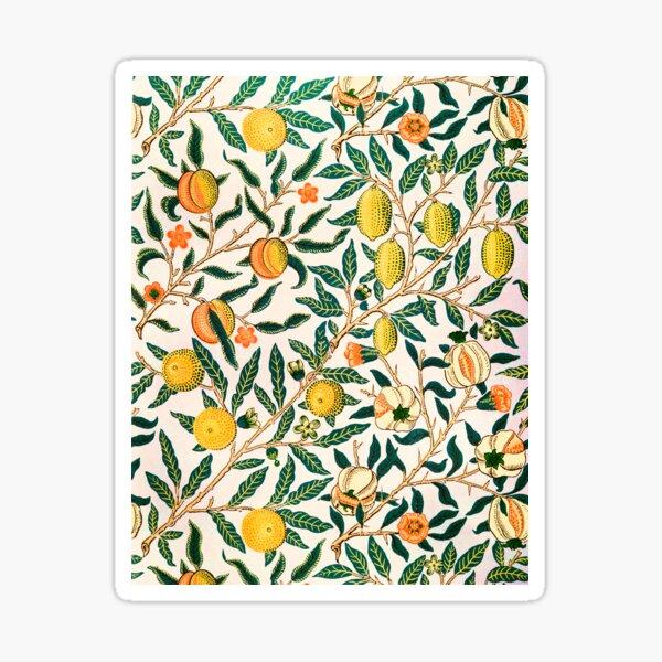 William Morris Pattern - Fruits Sticker