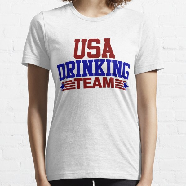 USA Drinking Team Essential T-Shirt