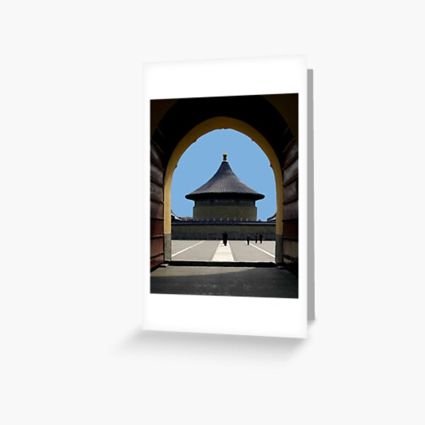 THE TEMPLE   Greeting Card