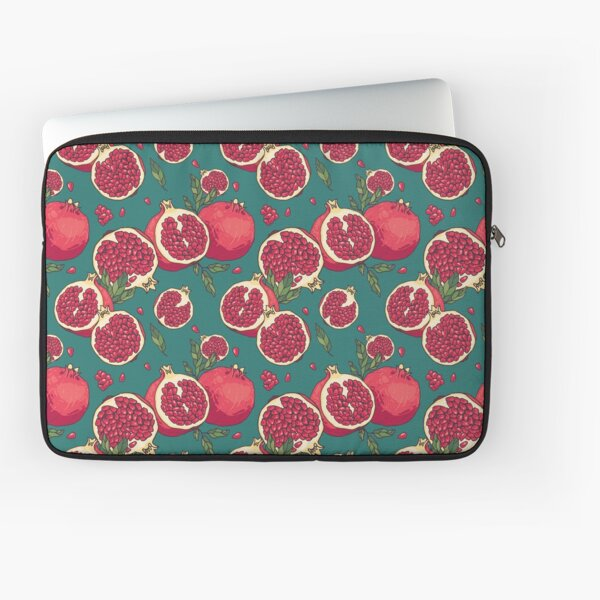 Juicy pomegranate fruits Laptop Sleeve