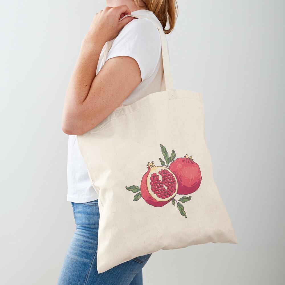 Juicy pomegranate fruits Tote Bag