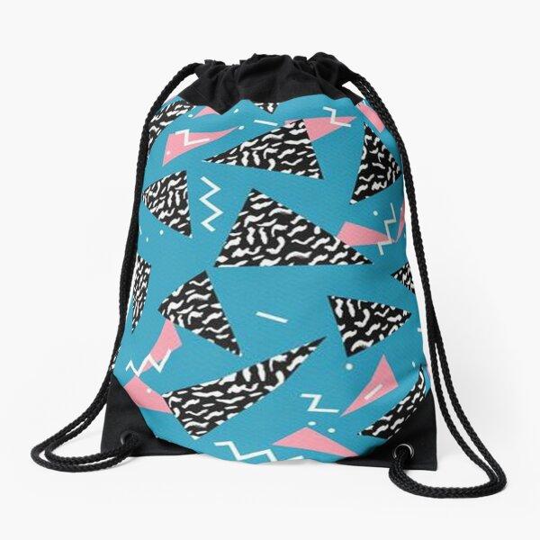 Abstract Drawstring Bag