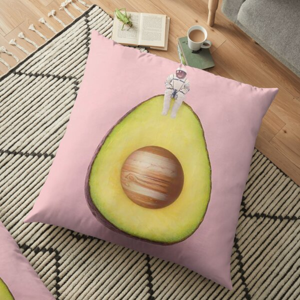 Alvocado Art Floor Pillow