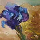 Blue Iris by Barbara Sparhawk