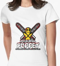 Homicidal Puppet Womens Fitted T-Shirt
