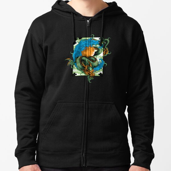 Sweatshirts Chinese Dragon Tattoo Custom Pullover Hoodie