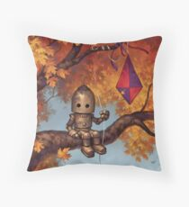 The Mystery of Flight Throw Pillow