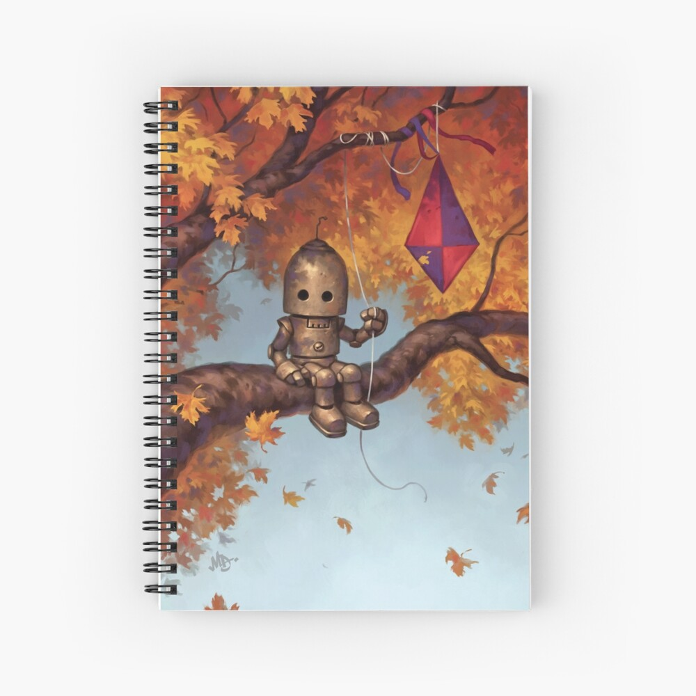 The Mystery of Flight Spiral Notebook