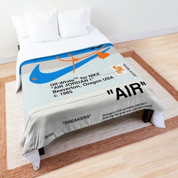 Blue White Comforter