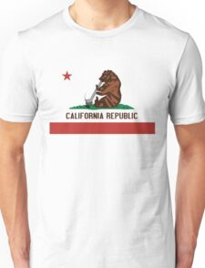 Funny Shirt - California State Flag Unisex T-Shirt
