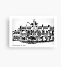 AMBASSADOR HOTEL , MACKAY, QUEENSLAND Canvas Print