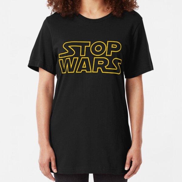 Stoppt Kriege Slim Fit T-Shirt