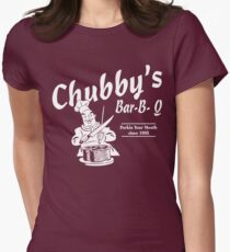 Funny Shirt - Chubby's Womens Fitted T-Shirt