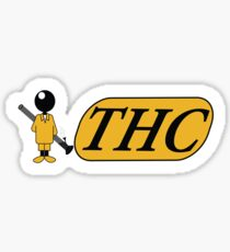 Funny Shirt - THC Sticker