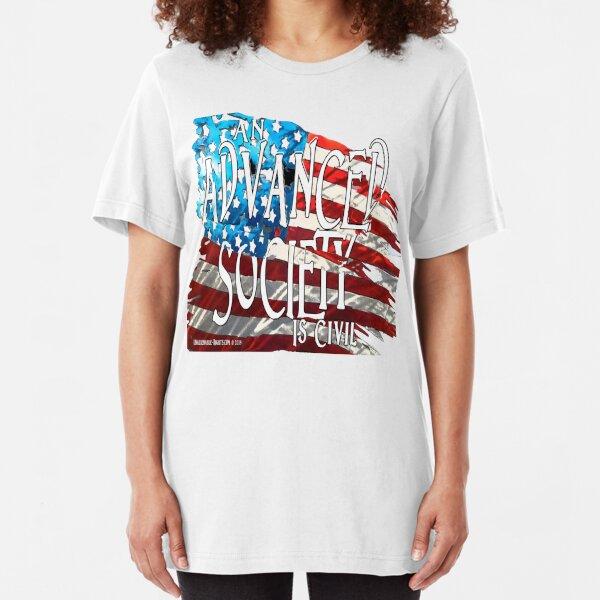 Advanced Society Slim Fit T-Shirt