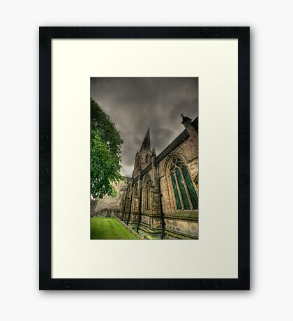 Parish Church of St Mary and All Saints II Framed Print
