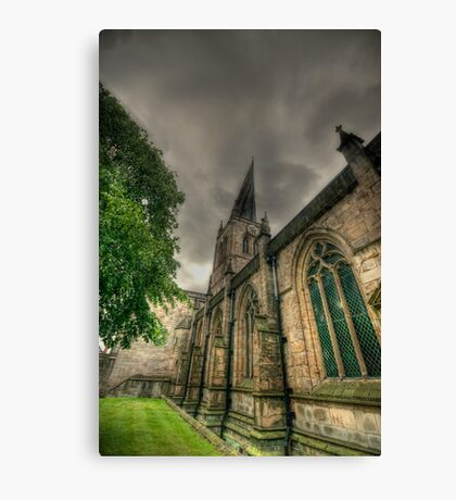 Parish Church of St Mary and All Saints II Canvas Print