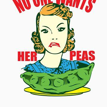 Funny Shirt - Her Peas by MrFunnyShirt