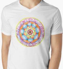 mandala 2 Men's V-Neck T-Shirt