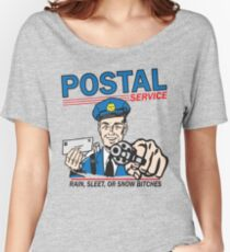 Funny Shirt - Postal Women's Relaxed Fit T-Shirt