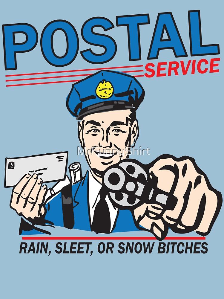 Funny Shirt - Postal | Unisex T-Shirt