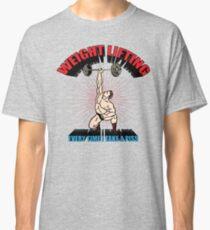 Funny Shirt - Weight Lifting Classic T-Shirt