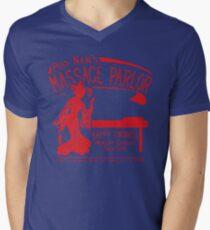 Funny Shirt - Happy Endings Men's V-Neck T-Shirt