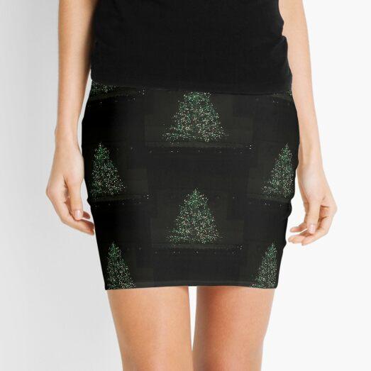 Christmas Tree Magic Mini Skirt