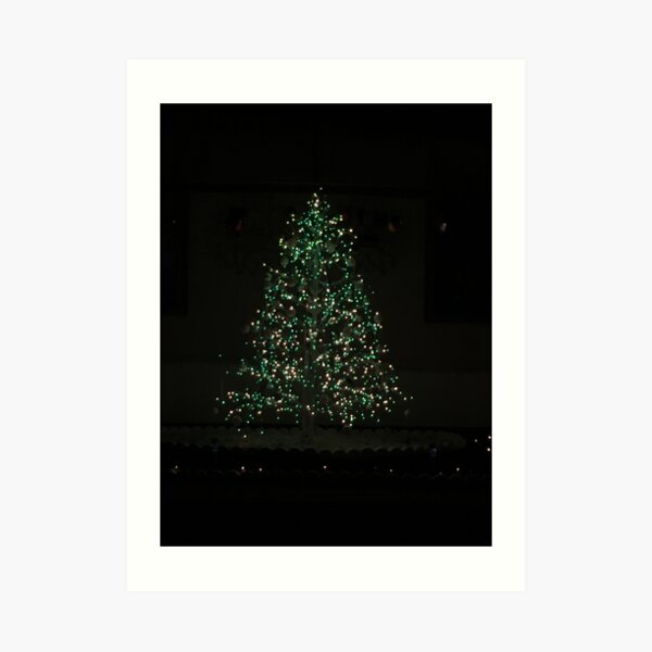 Christmas Tree Magic Art Print