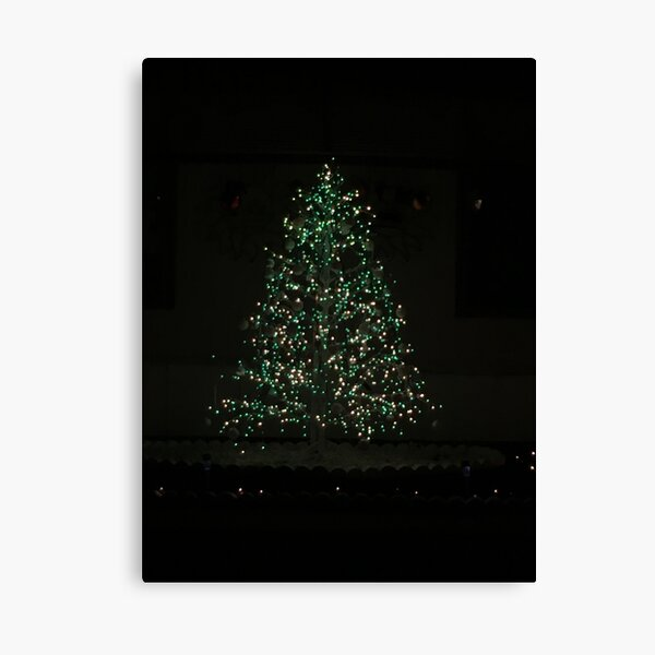 Christmas Tree Magic Canvas Print