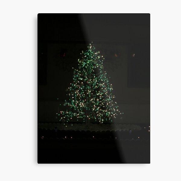 Christmas Tree Magic Metal Print