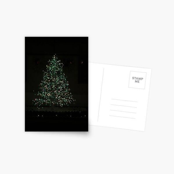Christmas Tree Magic Postcard