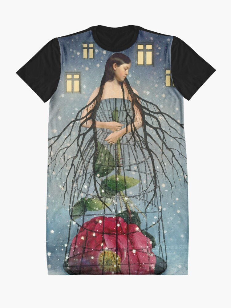 Alternate view of Five of Pentacles Graphic T-Shirt Dress