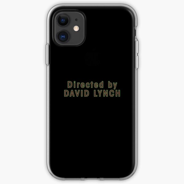 Directed by David Lynch iPhone Soft Case