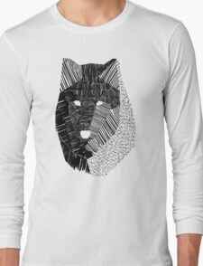 Wolf Mask Long Sleeve T-Shirt