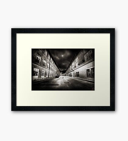 Stormy Salzburg Framed Print