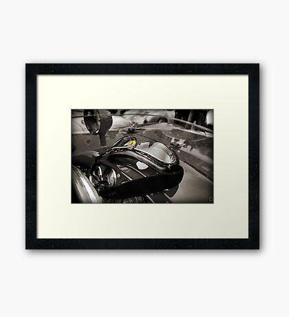 Vintage Ferrari Dreaming Framed Print