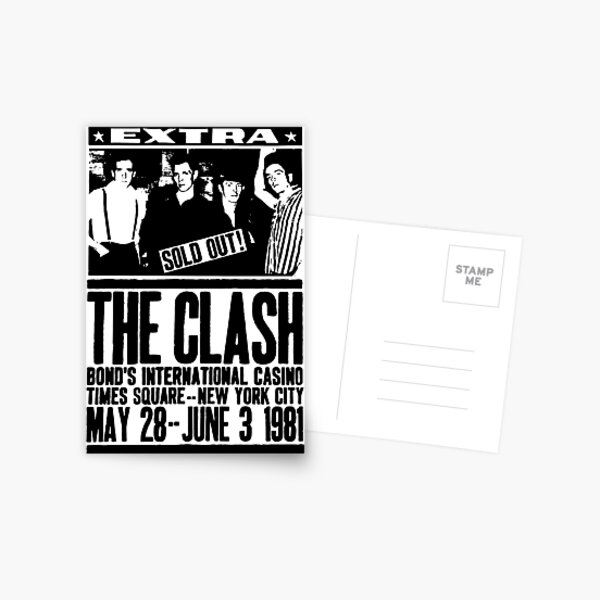 Punk Rock Postcard