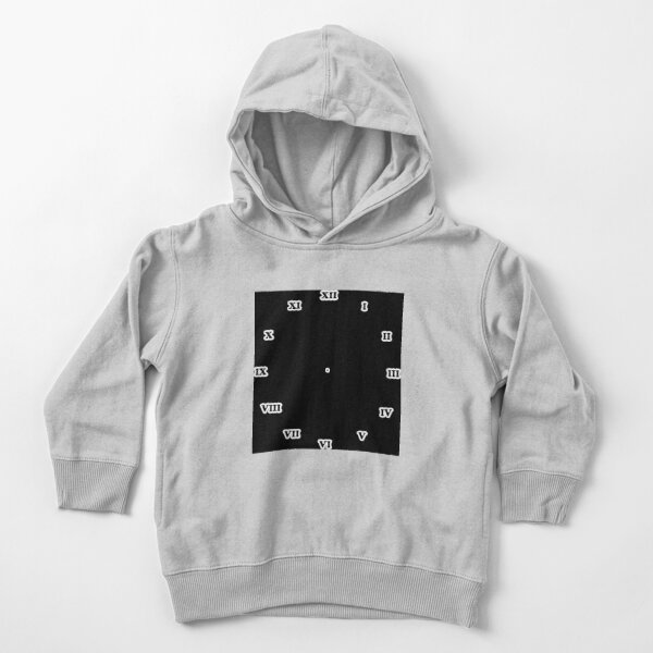 Clock dial with Roman numerals Toddler Pullover Hoodie