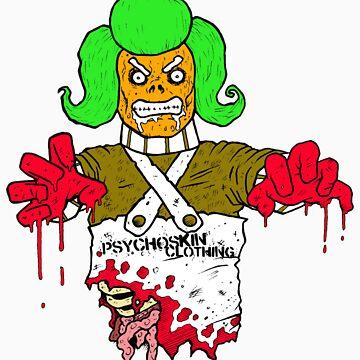 Zombie Oompa by Psychoskin